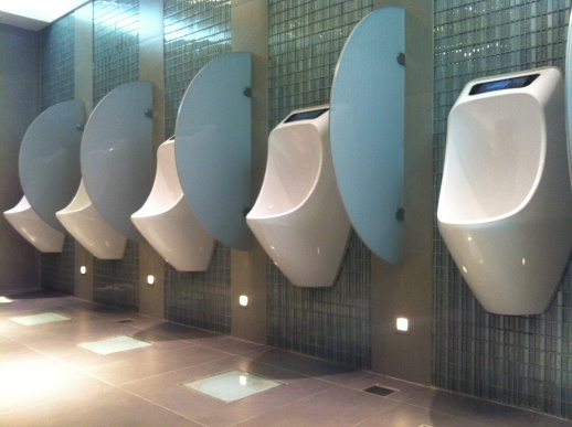 Hygienic Advantages with URIMAT waterless urinals