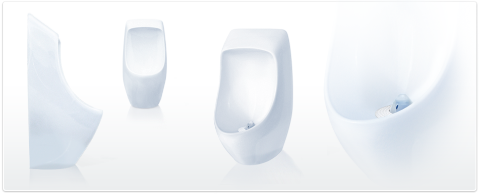 URIMAT ceramic waterless urinals