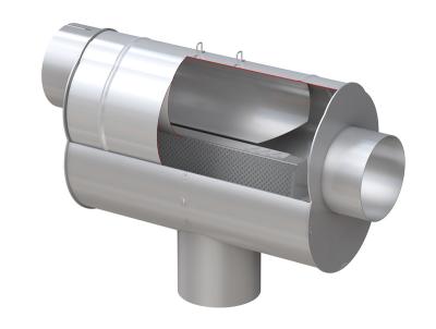 WISY LineAR 100 - V2A Rainwater Filter