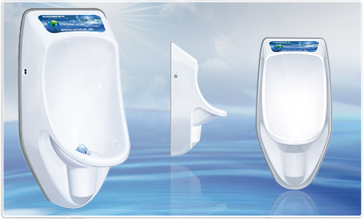 URIMAT compact waterless urinals