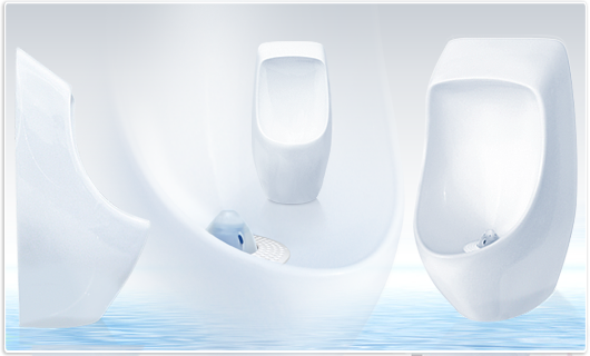 URIMAT ceramic waterless urinal