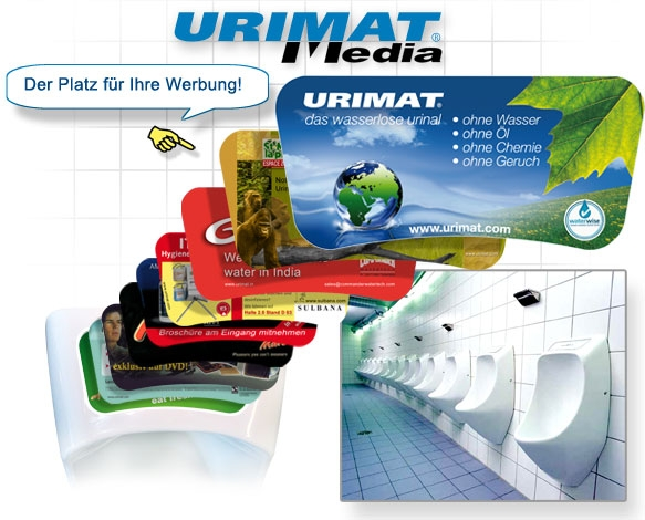 URIMAT - Save Water & Generate Extra Revenue at the same time!