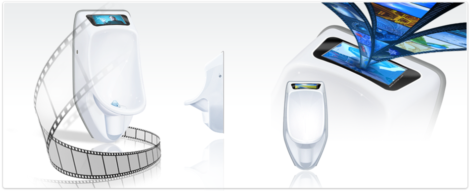 URIMAT compactvideo waterless urinal
