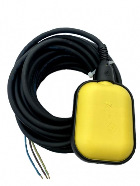 Float Switch with 10m cable   emptying