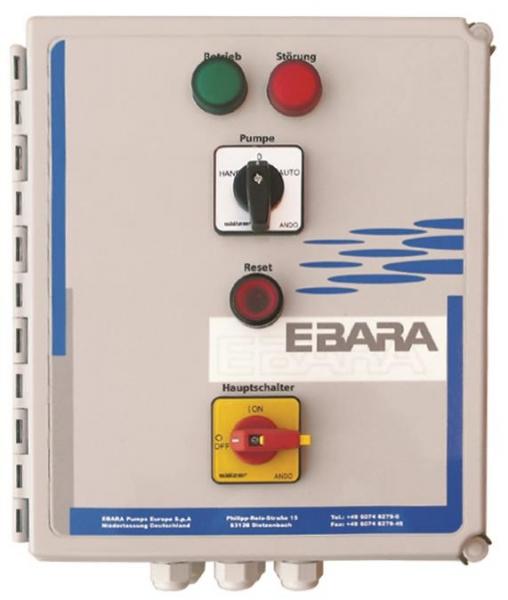 EBARA ECONTROL COMFORT 400/I - 2.5 - 4.0 A | Pump Control Panel for 1 Pump